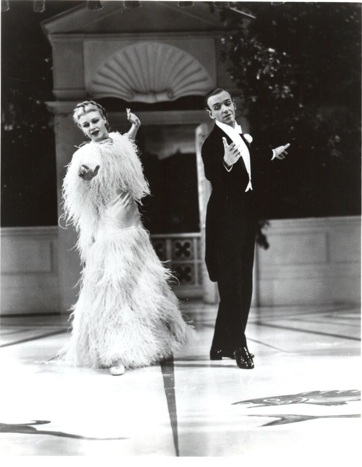 Ginger Rogers Dress In Top Hat