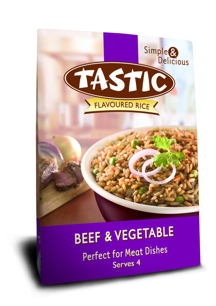 Tastic Beef & Vegetable 200g
