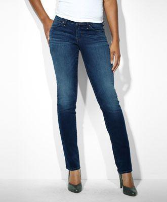 Modern Bold Curve Straight Jeans Levi