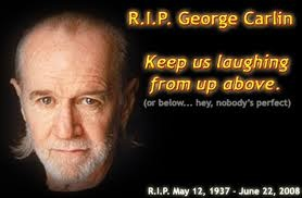 George Carlin...the man who told us the 7 dirty little words...