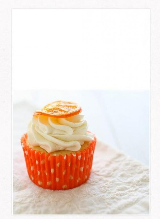 Orange Vanilla Bean Cupcakes | cakes | Pinterest