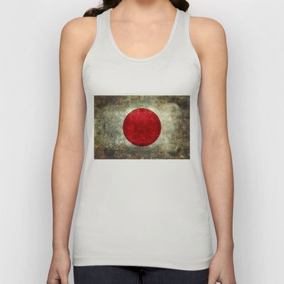 The national flag of Japan Unisex Tank Top