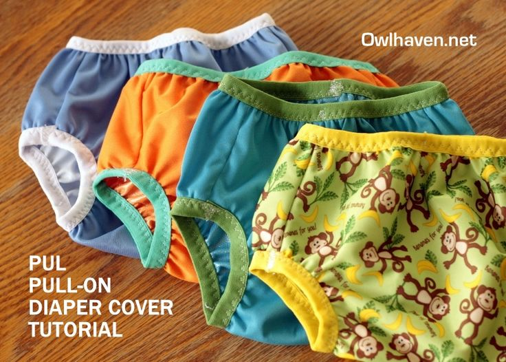 Finally! The tutorial I have been searching for! Waterproof diaper cover