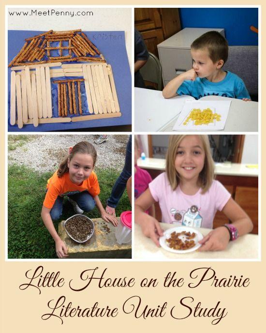 Ideas for creating a Little House on the Prairie Unit Study