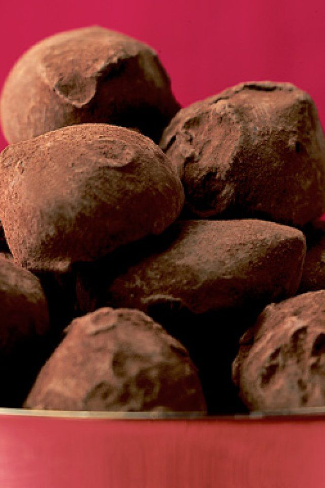 Trufas de Chocolate de dos ingredientes