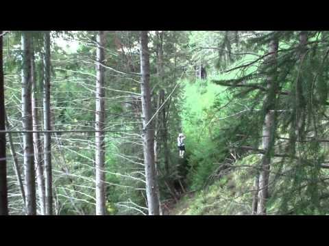 Zip line at ZipTrek Eco Tours - Part 4