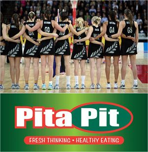 Pita Pit is now an official sponsorship partner for Netball NZ and the Silver Ferns