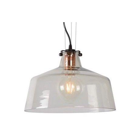 Szklana lampa wisząca Vitri Round