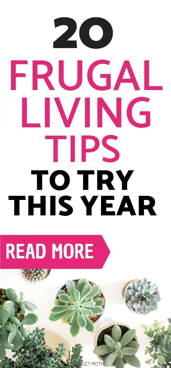 20 Must-Try Frugal Living Tips for 2018!