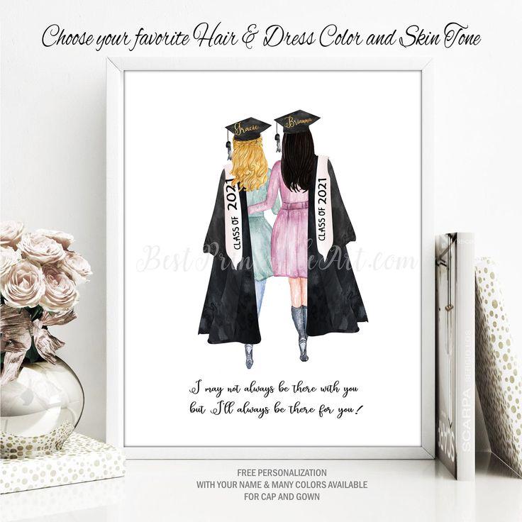 Graduation Print Graduation Gift For Her Fashion Illustration Etsy Graduation Gifts For Her Print Fashion Illustration