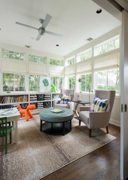 Best 25 sunroom playroom ideas on pinterest kids playroom colors living room seating ideas for Converting a sunroom into a bedroom