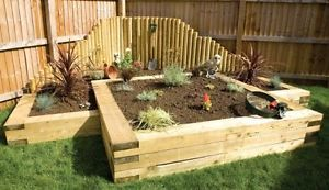 17 Best Images About Sleepers Retaining Wall On Pinterest Gardens Raised Beds And Raised Planter