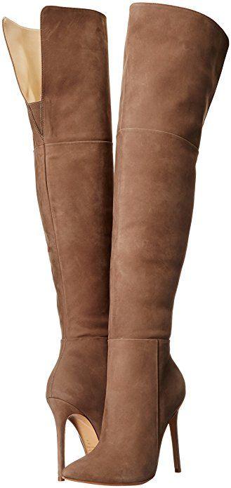 Schutz Women's Germana Slouch Thigh High Knee High Boot: