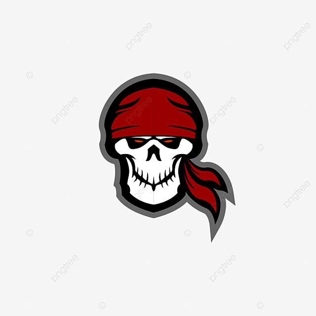 Pirates Skull Mascot E Sports Logo Symbol Illustration Skull Png And Vector With Transparent Background For Free Download Sports Logo Logo Design Free Pirate Skull