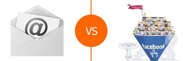 Sfida emal VS fan, newsletter contro fan page. Chi vale di più?