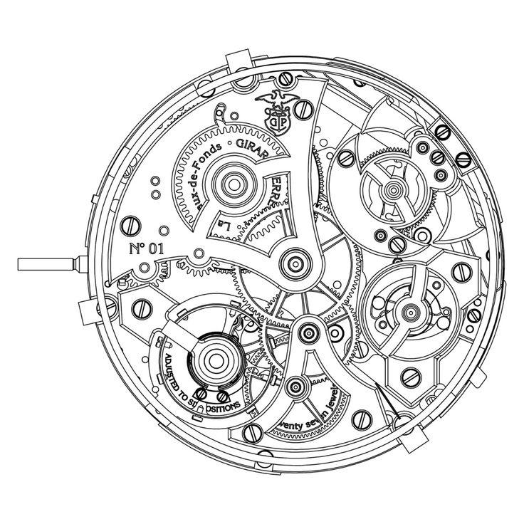 engranajes de reloj dibujo - Buscar con Google