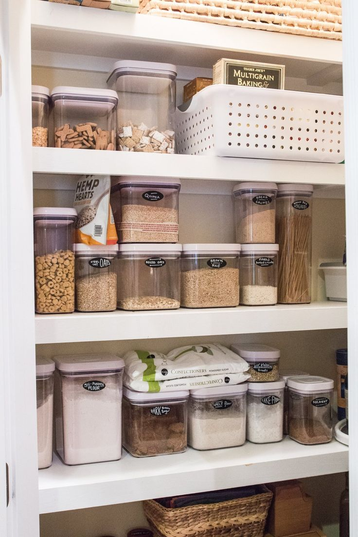 223 best Home: Pantry images on Pinterest | Organized pantry ...