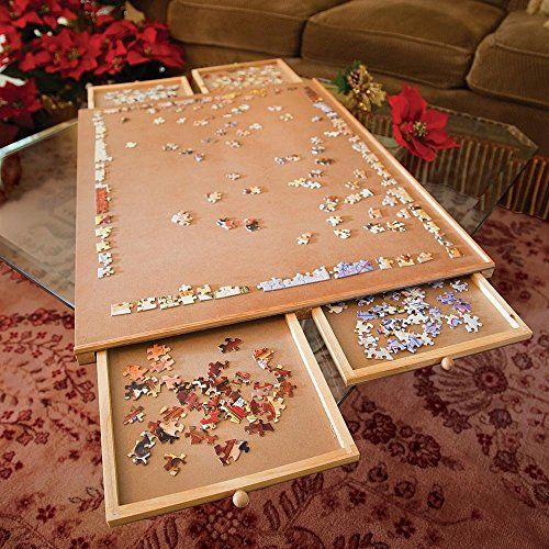 Diy wooden jigsaw puzzle woodworking projects plans for Puzzle cutting board plans