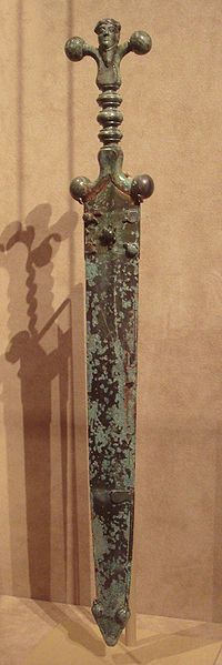 Celtic: sword and scabbard, circa 60 BCE. Check out more #Art & #Designs at: http://www.vektfxdesigns.com