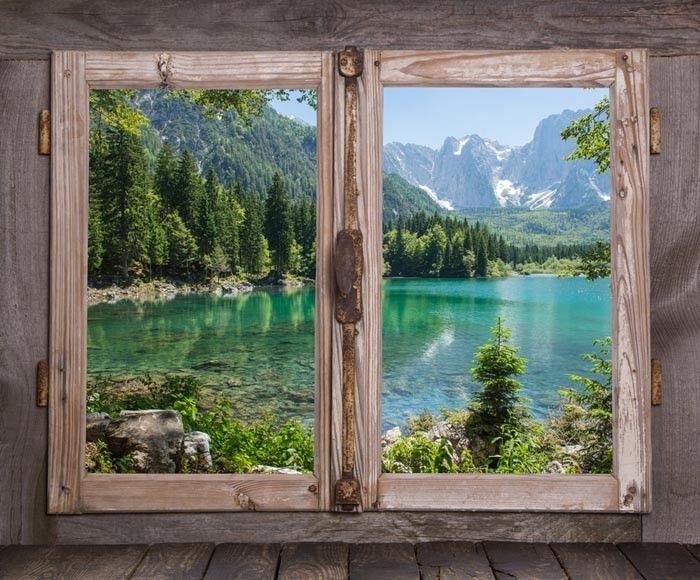 Oltre 25 idee originali per decorazione finestra su - Quadri con finestre ...