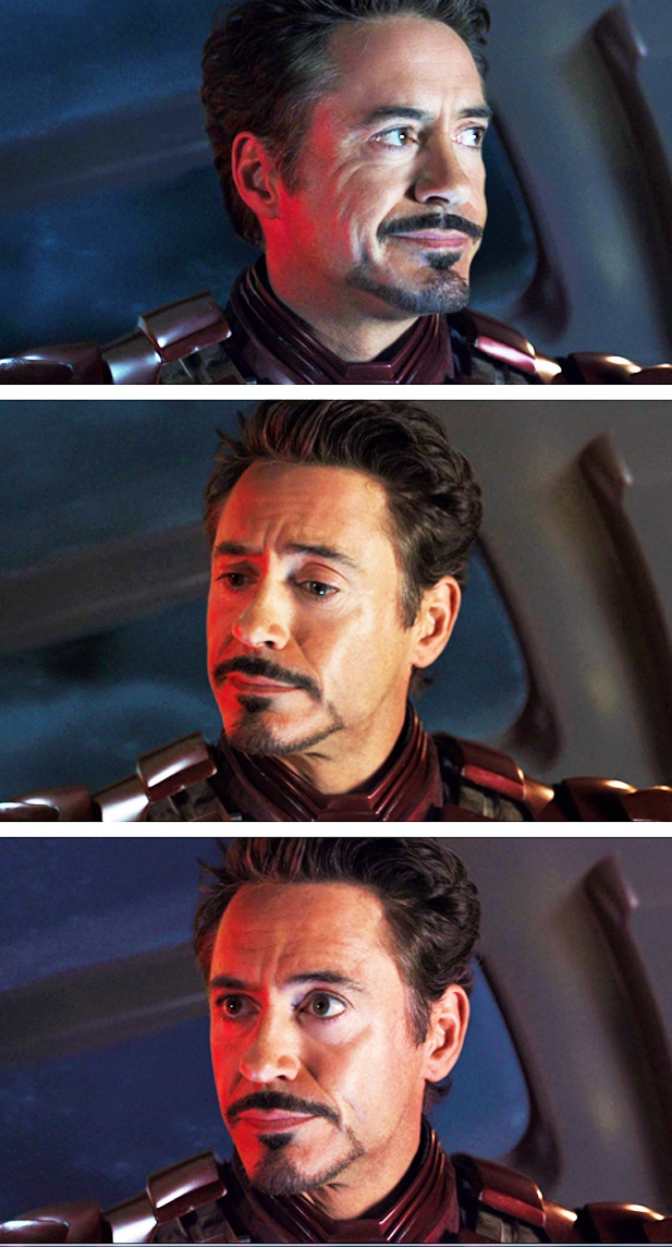 Sassy Tony is sassy, i think he expresses he's all personality just in those faces