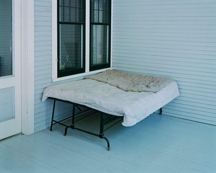 Alec Soth - Charles Lindbergh's Boyhood Bed, Little Falls, MN,1999