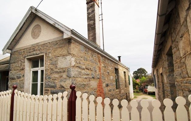 Moruya granite shop and house, Campbell Street