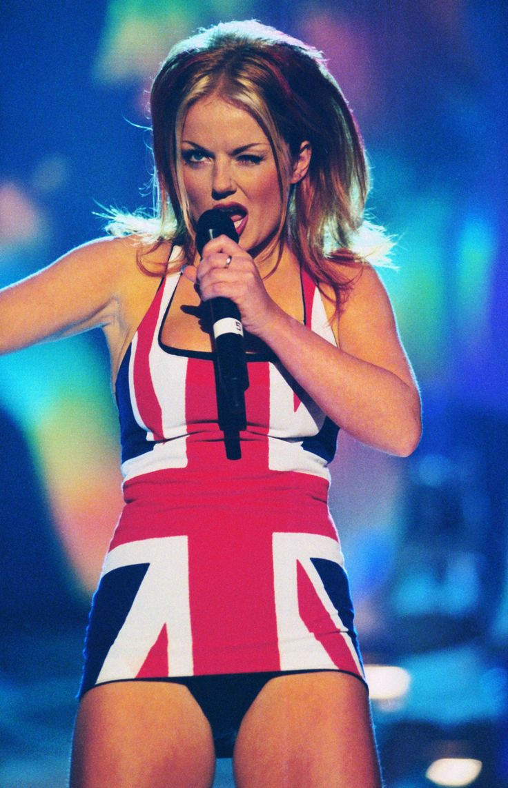Geri Halliwell's Union Jack Dress Is One Of The Sexiest Dresses Of All Time