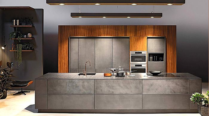 Concrete kitchen design trends 2016 2017 kitchen for Images kitchens 2017