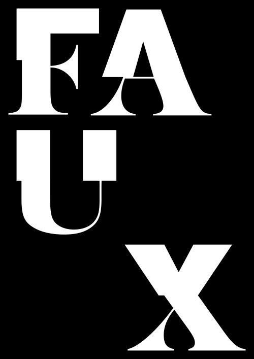 build-built-built: Anais Cuillier / FAUX / 2016