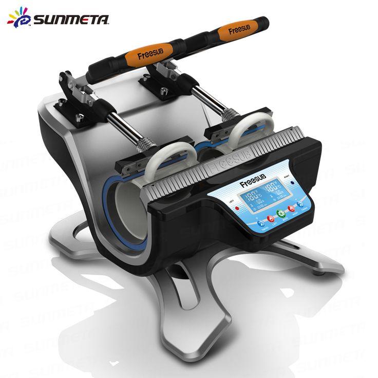 FREE SHIPPING Double Station Mug Press Heat Press Machine Mug Cup Sublimation Transfer Printing #Affiliate