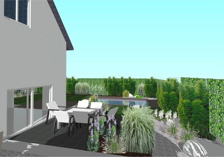 Eden design paysagiste r alise votre plan de jardin for Projet terrasse en 3d