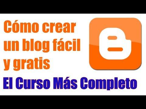 Cómo crear un blog gratis paso a paso - YouTube