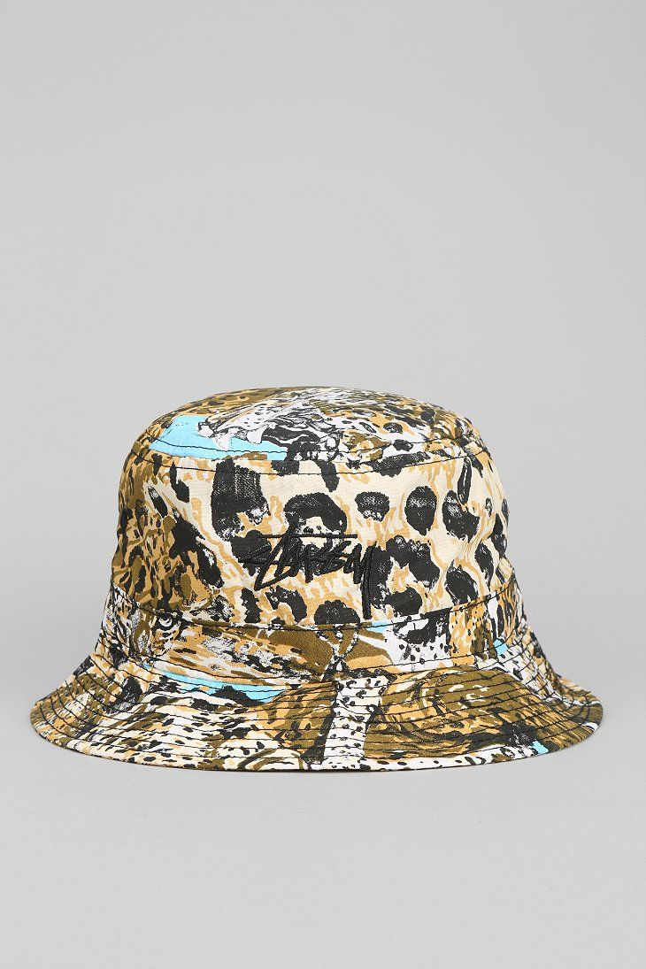 7a83045e Stussy Wildlife Bucket Hat | Mysteryland | Hats, Stussy, Bucket hat