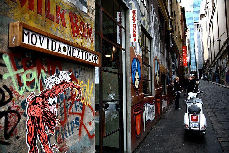 MoVida Next Door  Where: 1 Hosier Lane, Melbourne
