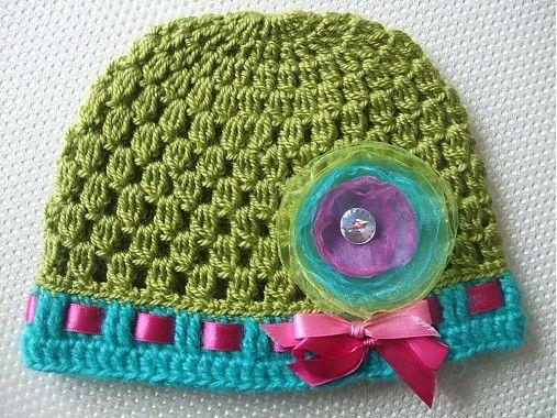 mischca / Machovo-zelená čiapočka