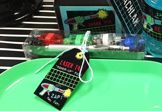 Anders Ruff Custom Designs, LLC: Pierson's Laser Tag Party