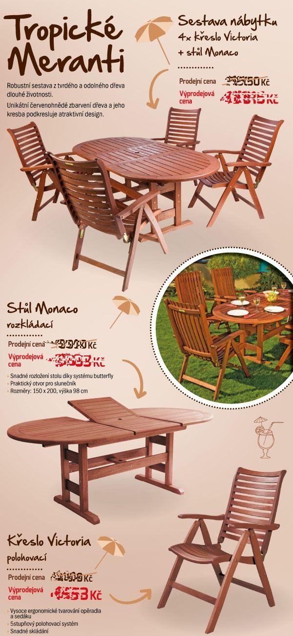 Tropicke Meranti | Zahradní nábytek výprodejové ceny - Mountfield