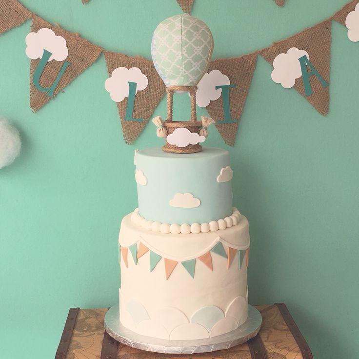 Hot Air Balloon Cake by Lana Cakes
