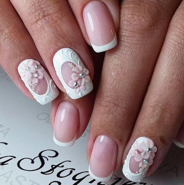 Ногти свадебные дизайны
