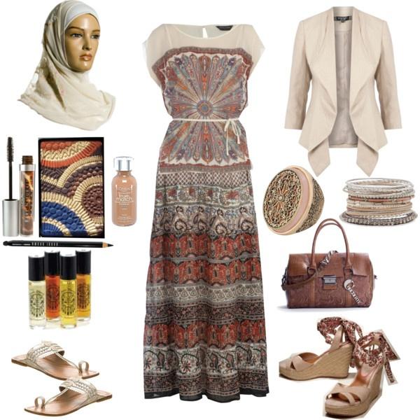 """Bohemian Hijabi Rhapsody"" by asmara-cindy-wilson-angle on Polyvore"