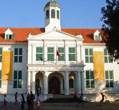 MUSEUM FATAHILLAH - JAKARTA HISTORICAL MUSEUM  FATAHILLAH SQUARE