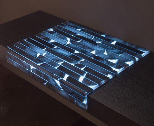 moderne Arbeitsplatte Beleuchtung