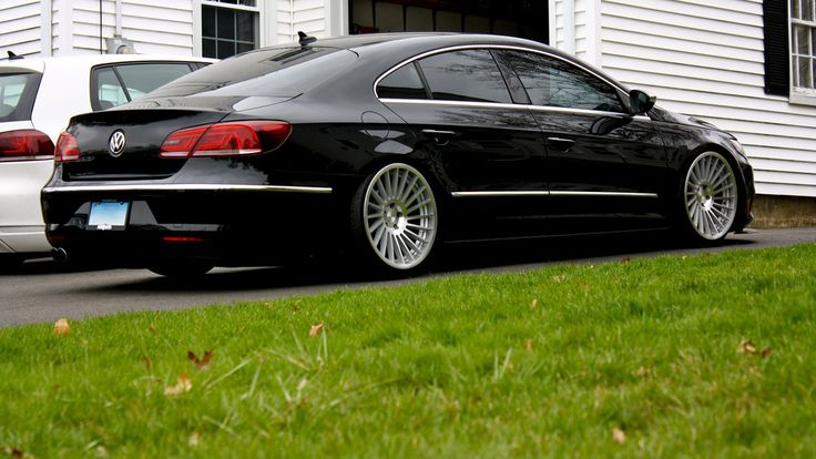 """2013 Bagged VW CC with 19"""" Rotiform IND-T"""