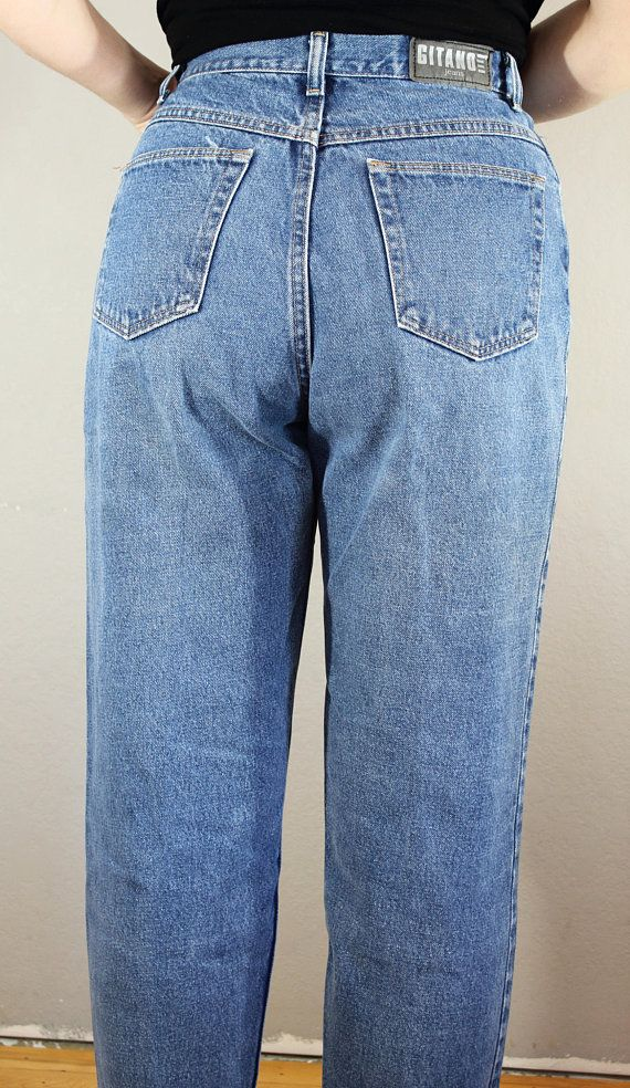 Gitano Jeans Waist 31 Inch Vintage Mom Jeans High Waisted Etsy Mom Jeans Vintage Mom Jeans High Waisted Mom Jeans