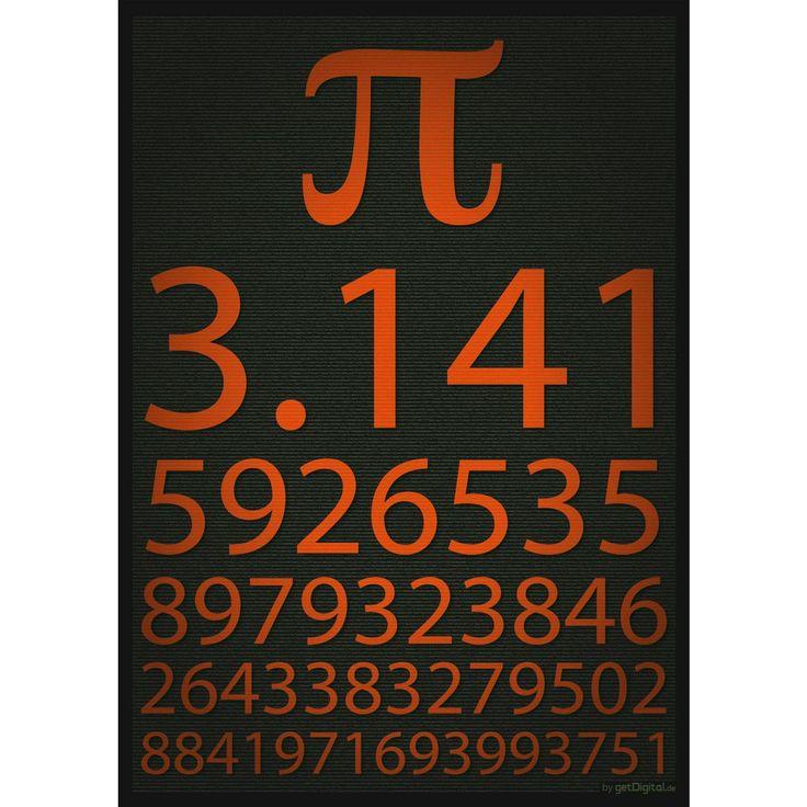 Pi Poster - 24h delivery | getDigital