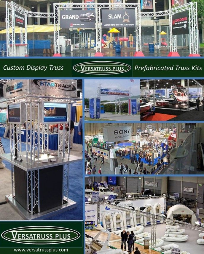 Truss Trade Show Booths  http://versatrussplus.com