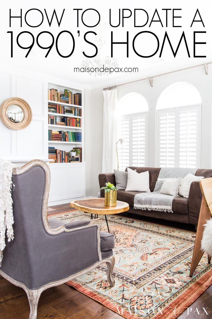 90s Home Update Before And After Maison De Pax Home Remodeling House Interior Updating House