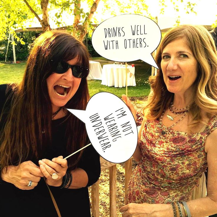 Funny Photo Prop Talk Bubbles - Wedding Edition by MakingHappy on Etsy - 10 great talk bubble photo props printed on premium card stock (with wooden dowels) to make your party extra fun! Check 'em out! Tested in the field with hilarious results! Pair with the Music Lyrics set from this shop for extra fun!