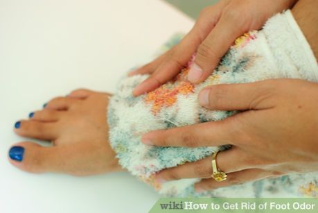 Image titled Get Rid of Foot Odor Step 2